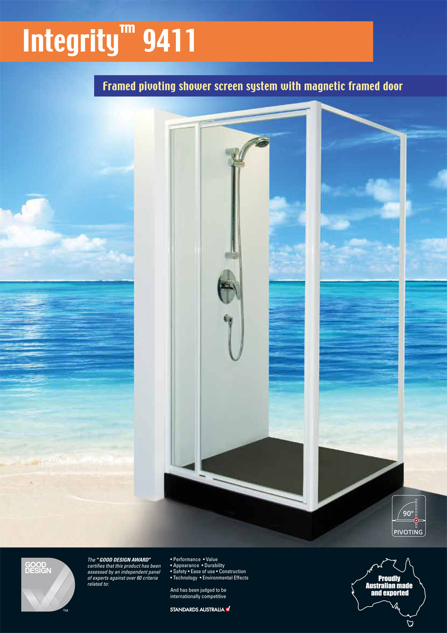 Fully Framed Integrity 9411 Blue Mountains Shower Screens